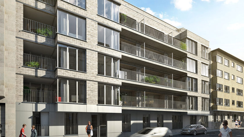 Four major new-build projects in Antwerp Harmoniewijk