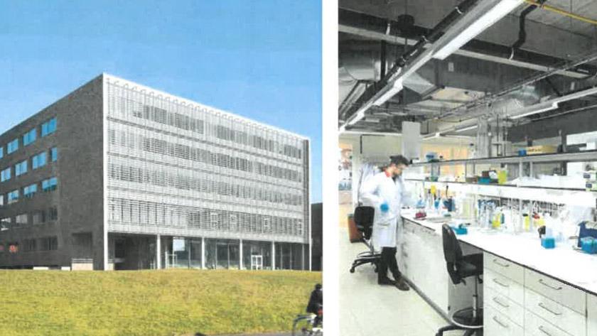 Wetenschappelijke architectuur in volle glorie **
