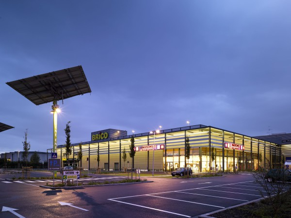 Retail Brico/Mediamarkt Wilrijk, parking. Project i.s.m. Michel Pauwels