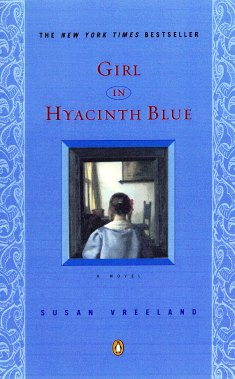 post by Elizabeth Jennings, author of The Button Collector, on Girl in Hyacinth Blue by Susan Vreeland