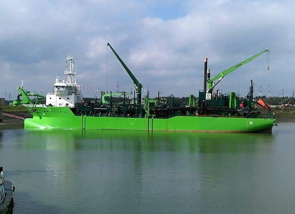 Scheldt River Schelde River schelde rivier deme baggeren baggerwerken job