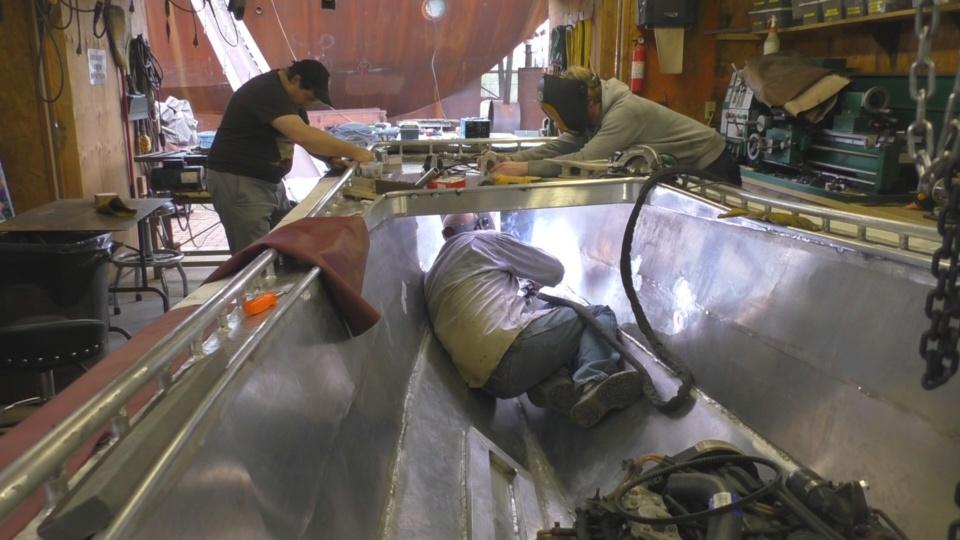 Diesel Jet Boat Build Part 8 Cool Drain Lift Cover