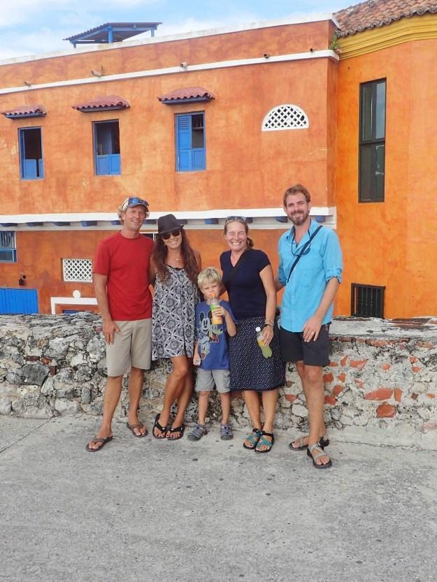 Matt, Me, Teo, Mia, and Jon. Photo Credit: Jon Wright