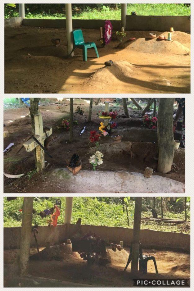 Kuna burial site.