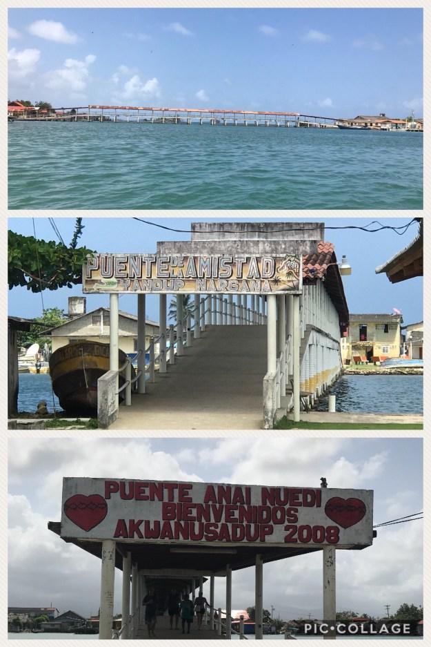 Bridge from Nargana to Corazon de Jesus.