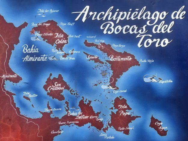 Archpielago Bocas del Toro