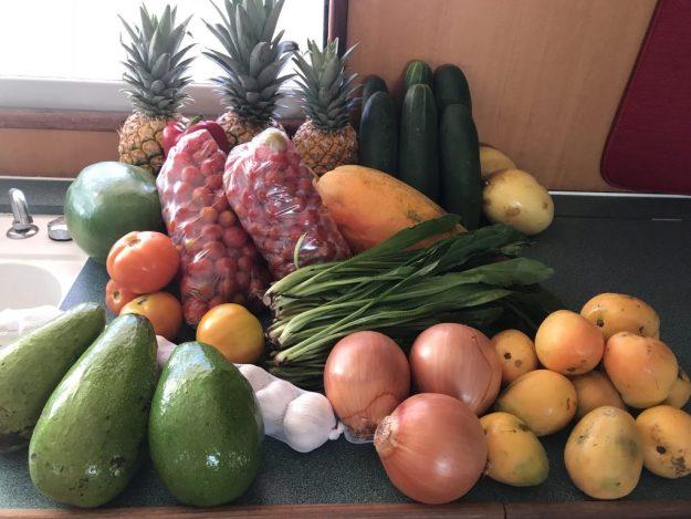 Fresh Fruit & Veggies from Market $25