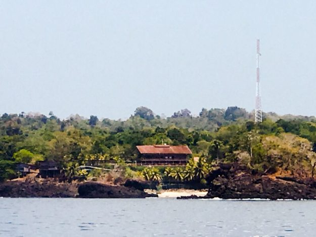 Owners residence at Isla De San Jose