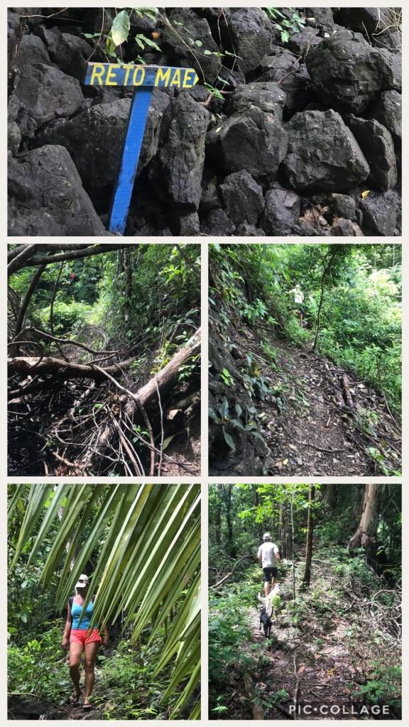 Reto Mae Extreme Hiking trail