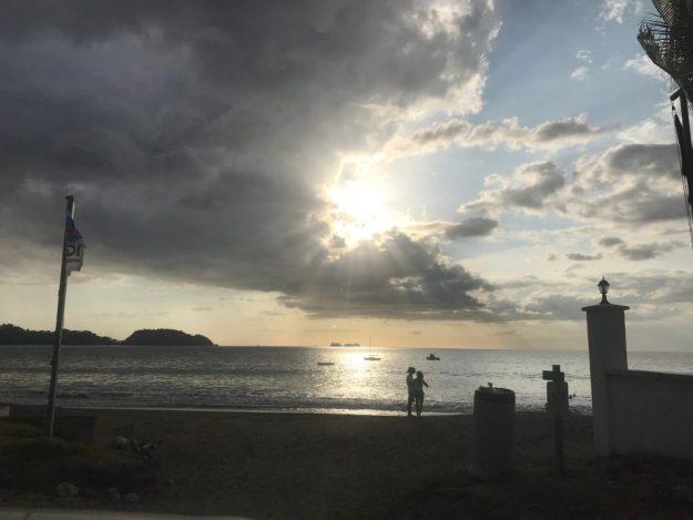 Playa Potrero Sunset Shot