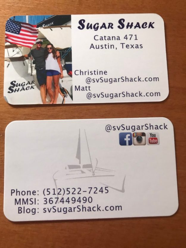 Sugar Shack Boat Cards