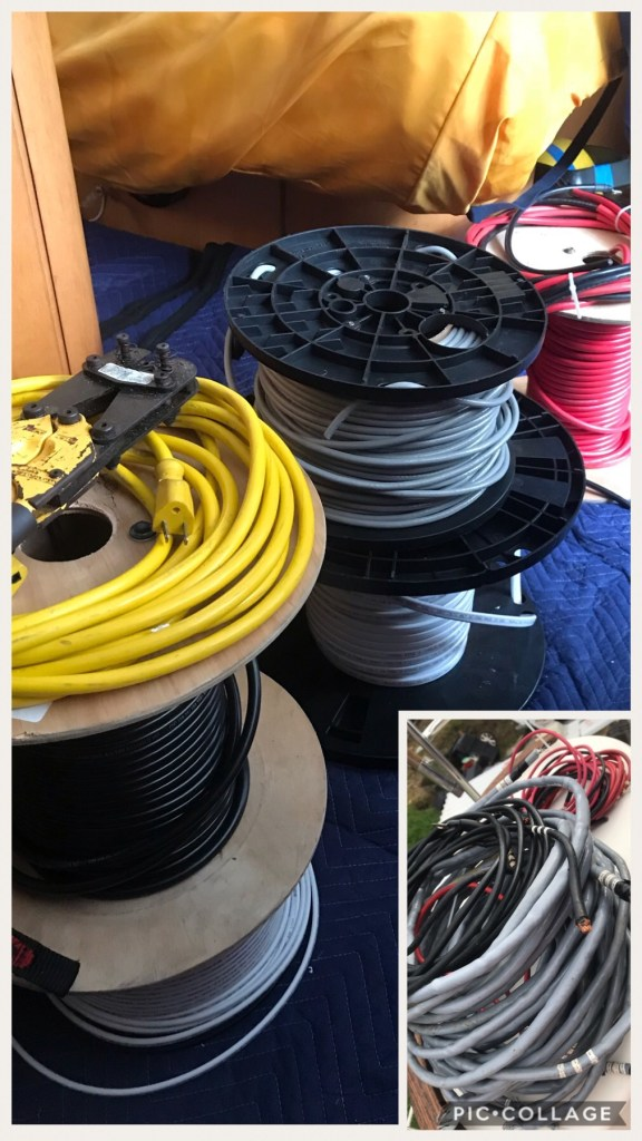 Out with the old, in with the new: Cables