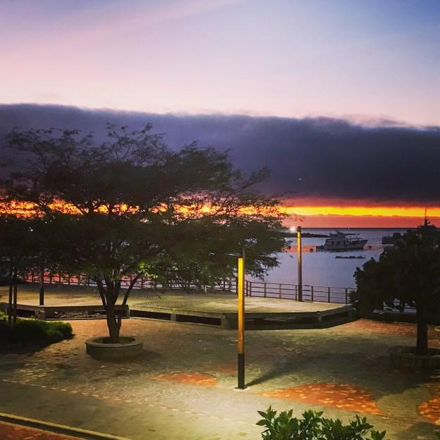 Sunset at San Cristobal