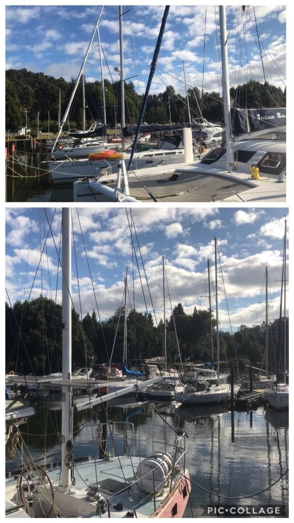 Club de Yates, Marina Estancilla docks