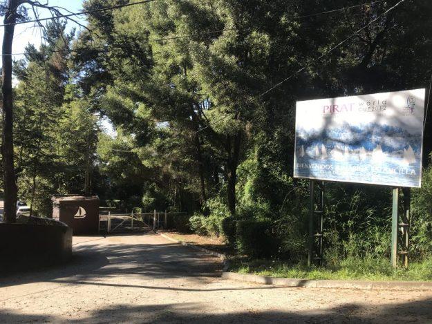 Entrance to Club de Yates Marina Estancilla