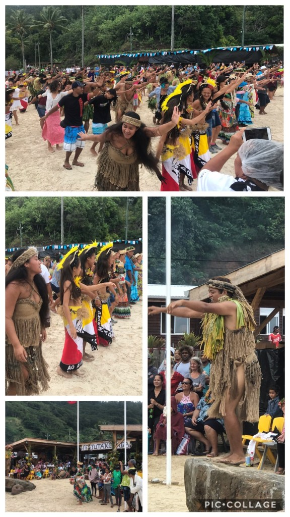 Group dance at the Heritage Festival