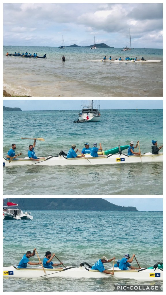 Outrigger Tug-Of-War Competition