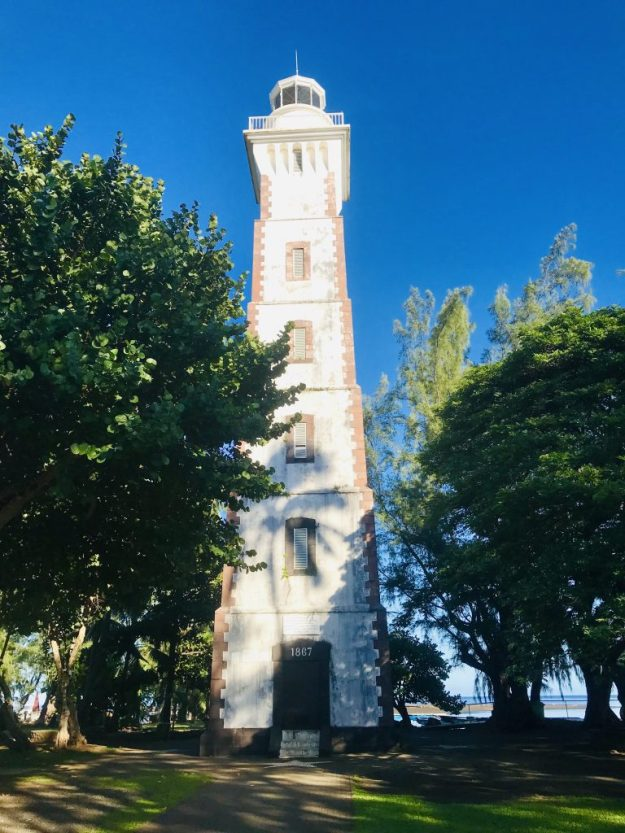 Te-ara-o-Tahiti lighthouse