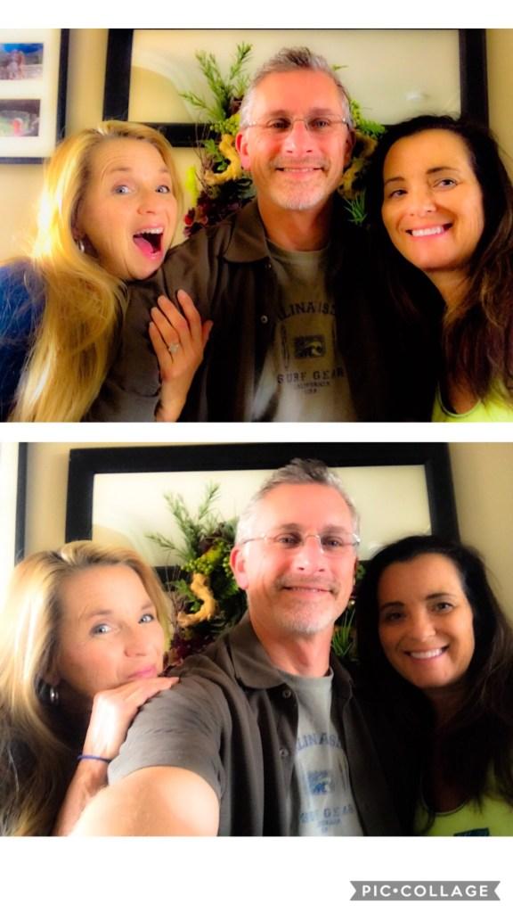 Kimberly, Troy and I