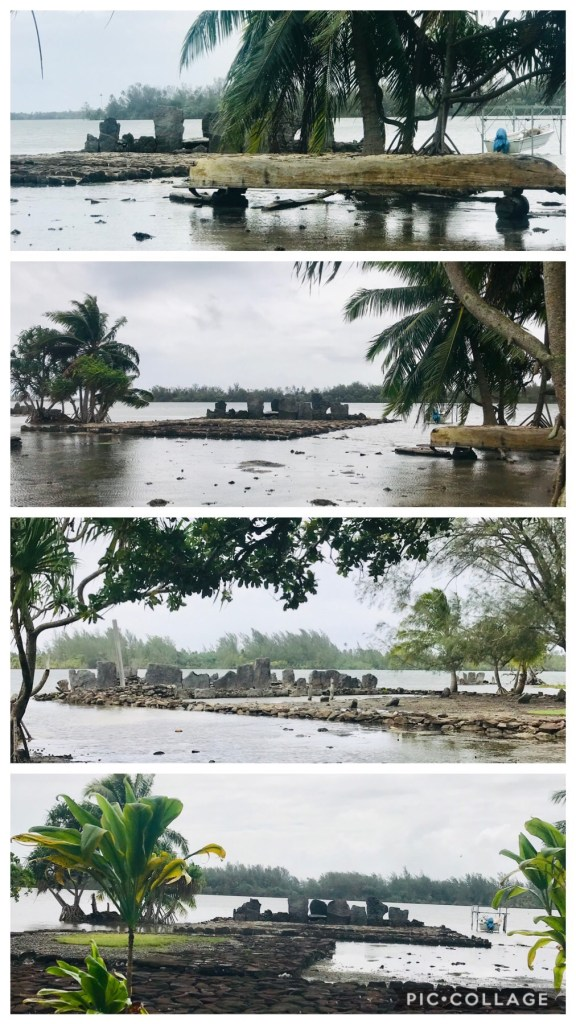 Marae flooded due to Maramu
