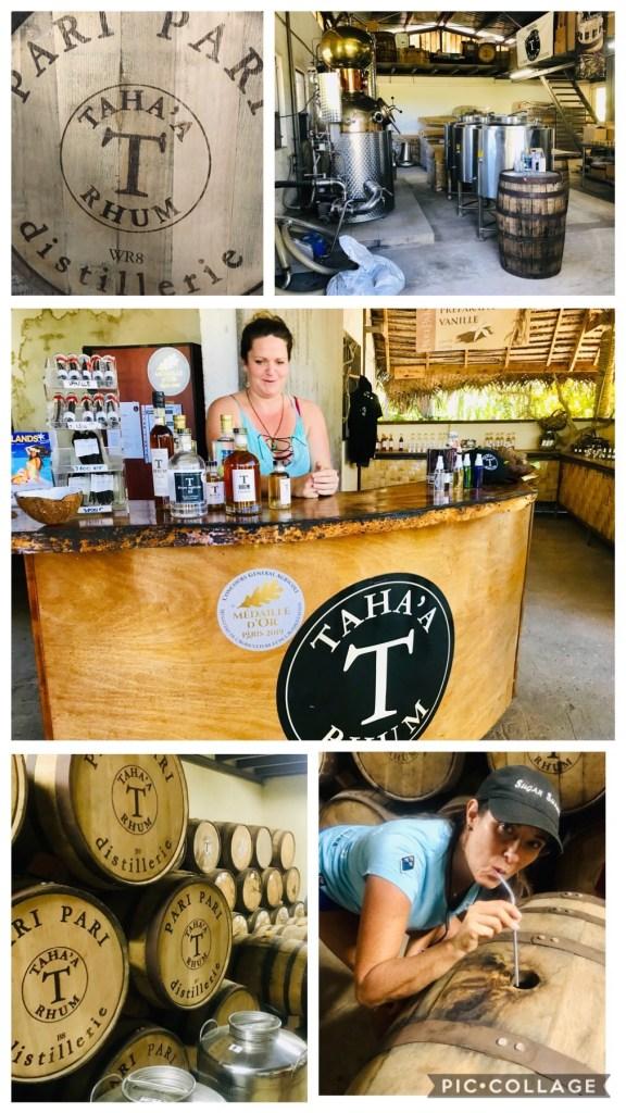 Taha'a Rhum Distillery