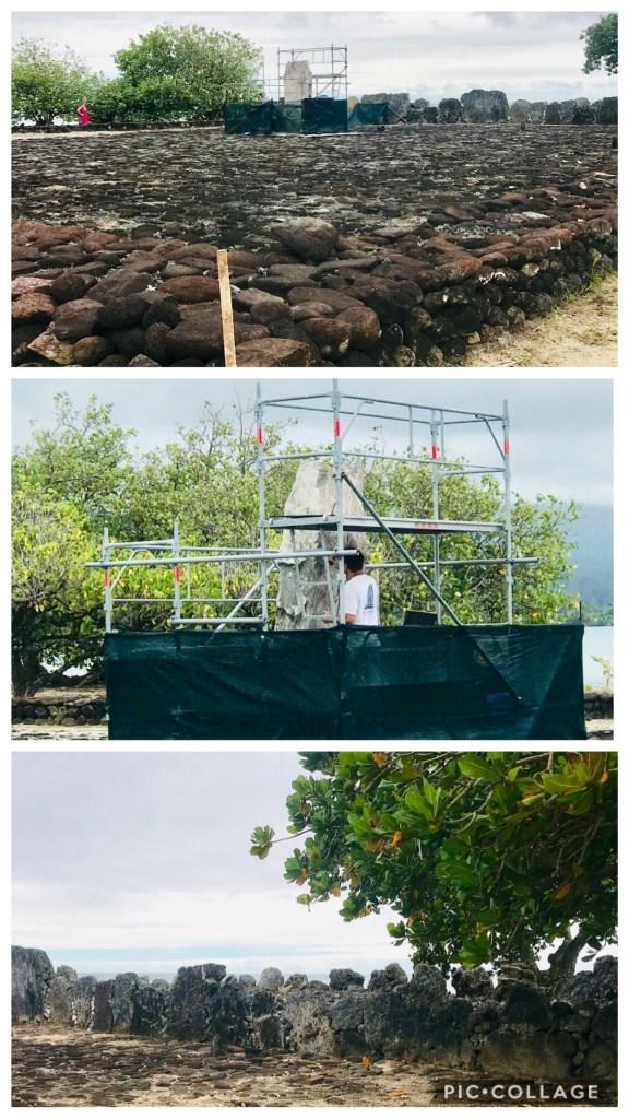 Repairing and restoring a marae