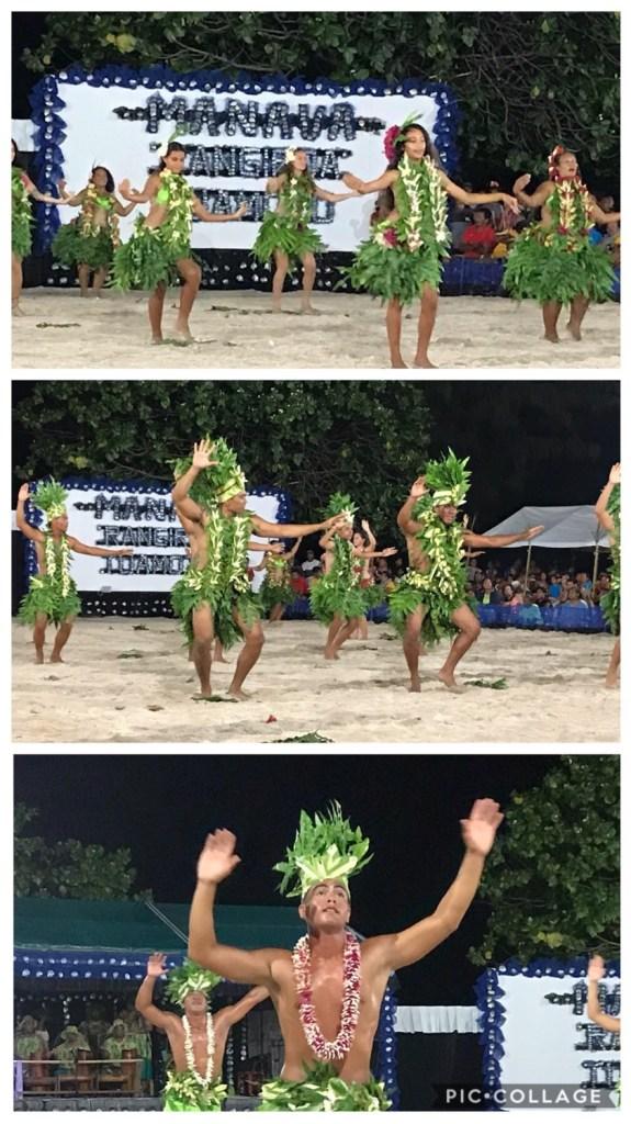 Team Tiki Tike Dancing