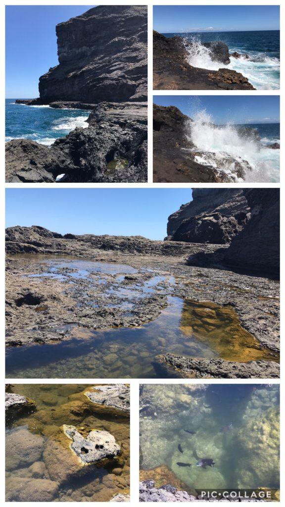Ua Pou Water's edge walk