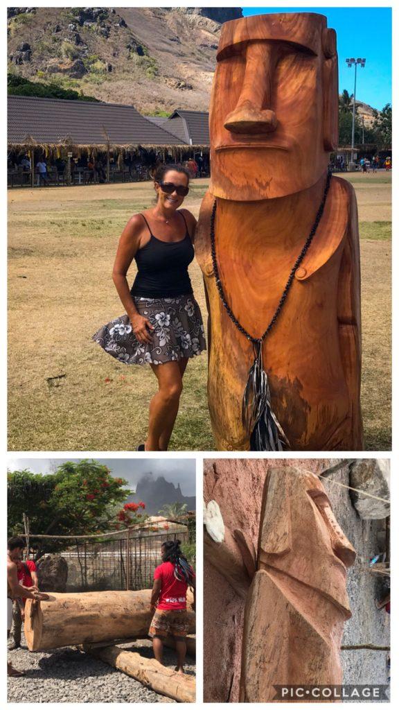 Wood Carving Rapa Nui