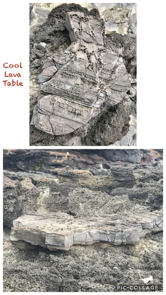 Cool Lava Table Structures