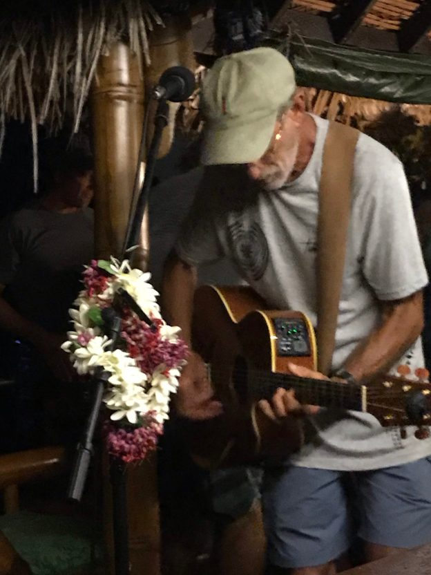 Steve at rock the barge