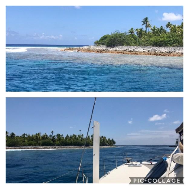 Amanu Pass at slack tide