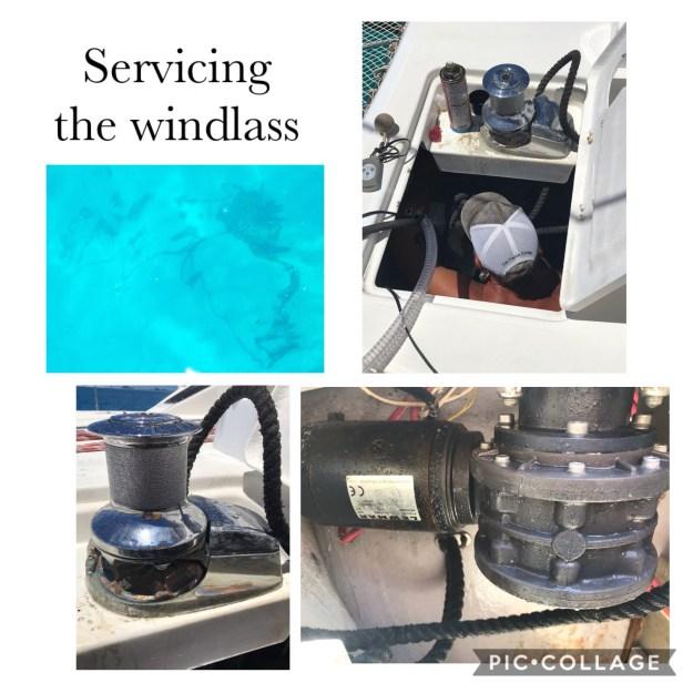 Servicing the Windlass