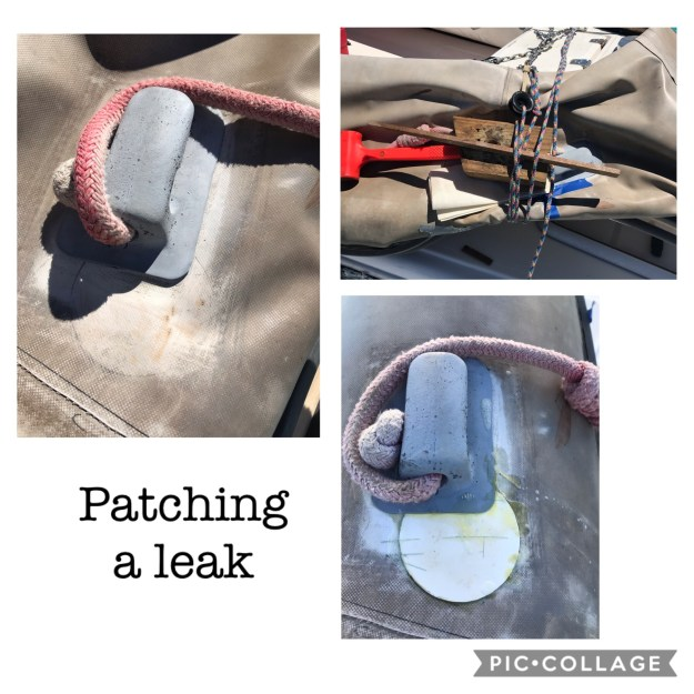 Patching a slow leak