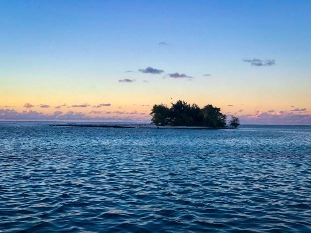 Sunrise at Puaumu