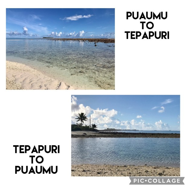1.4 mile walk from Puaumu to Teapuri