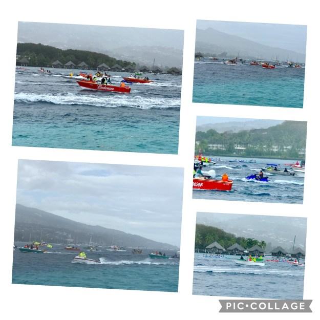 Va'a Race Mo'orea to Tahiti