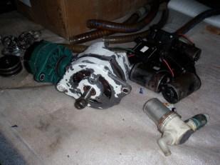 Balmar 110amp Alternator getting cleaned up