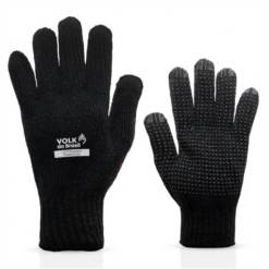 Luva de Segurança Cotton Black com Pigmento Volk