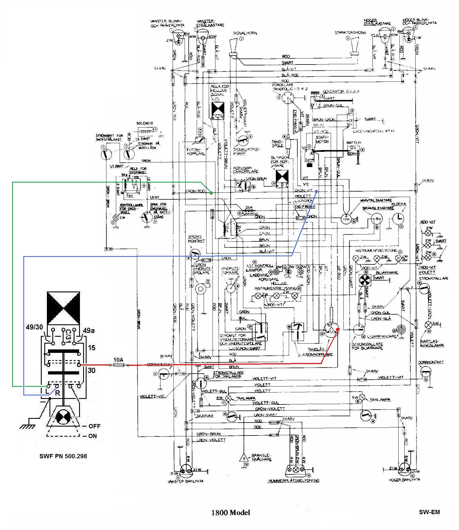 Napa 5 Prong Relay Wiring Diagram