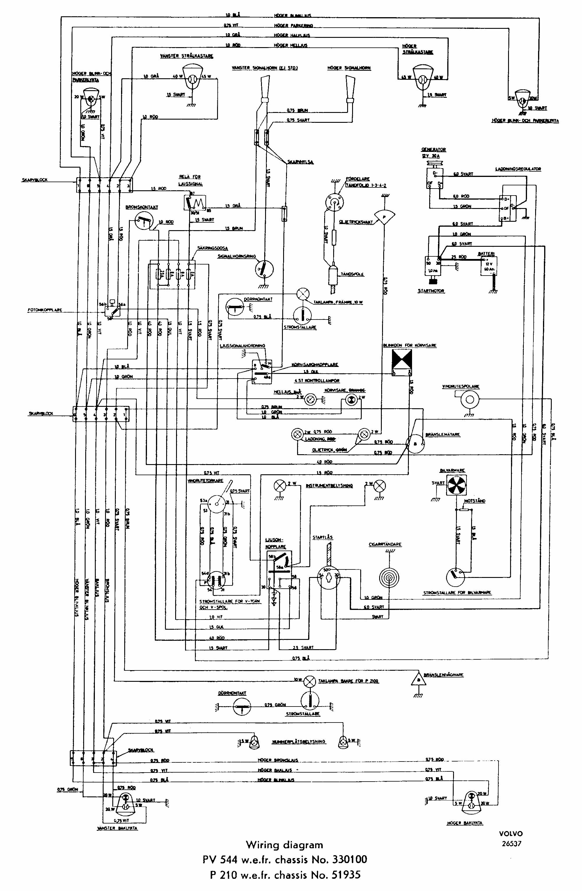 Single Speed Wiper Motor Wiring Diagram