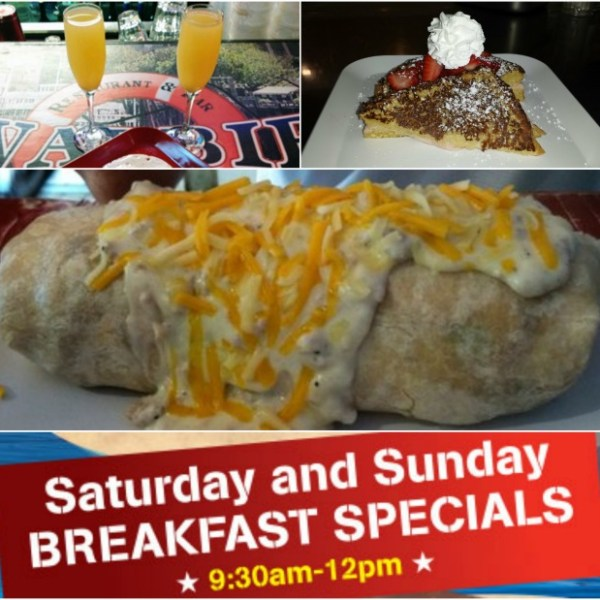 Swabbies Breakfast Specials