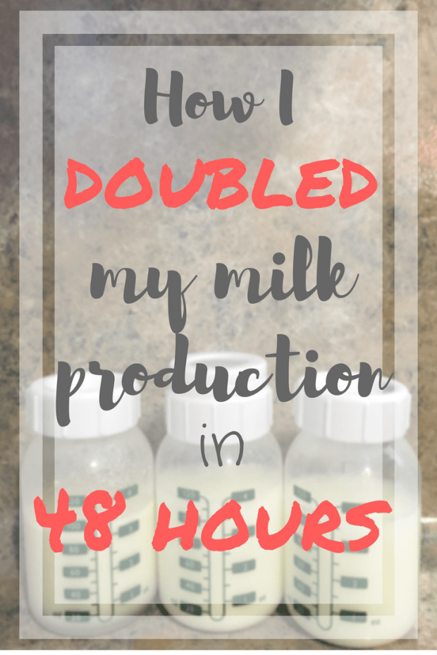 How to Increase Your Milk Supply in 48 Hours