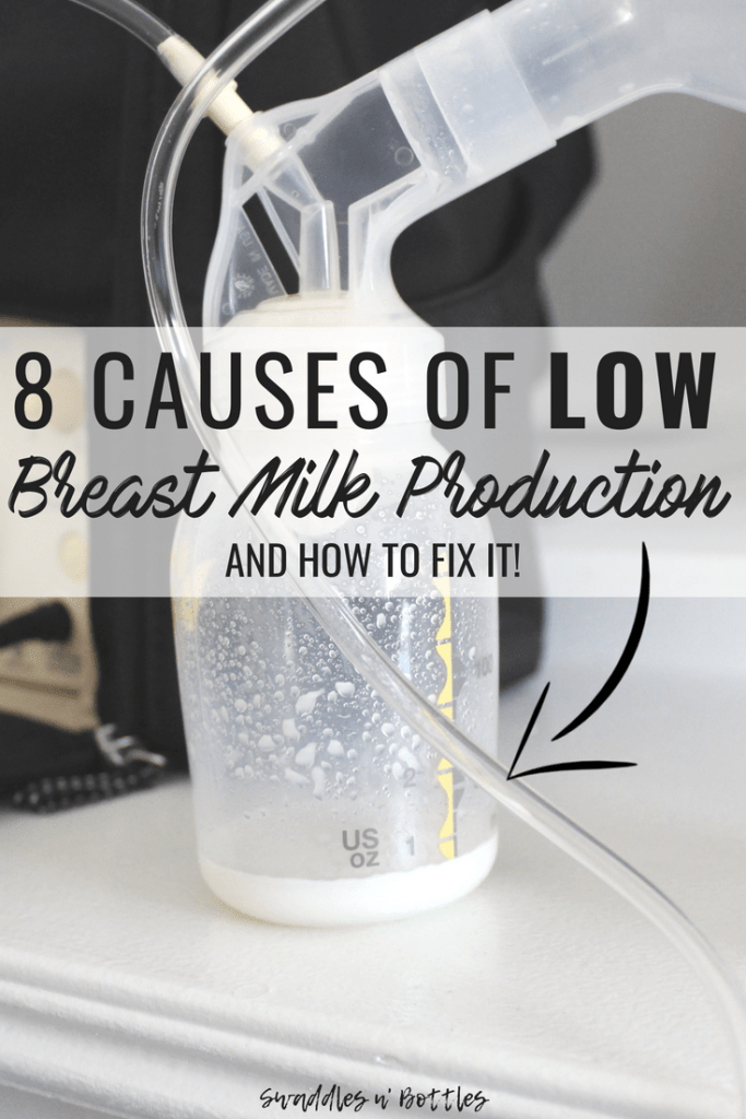 Nine Reasons you are experiencing low breast milk production