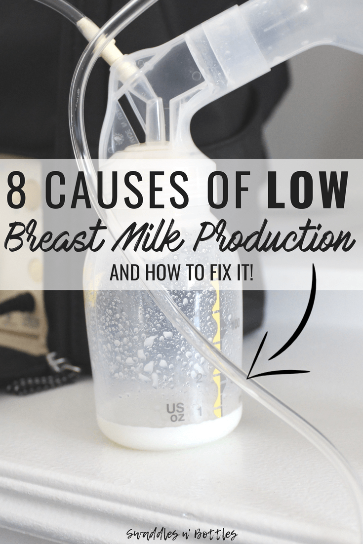 Causes of low breastmilk production and how you can easily fix them!