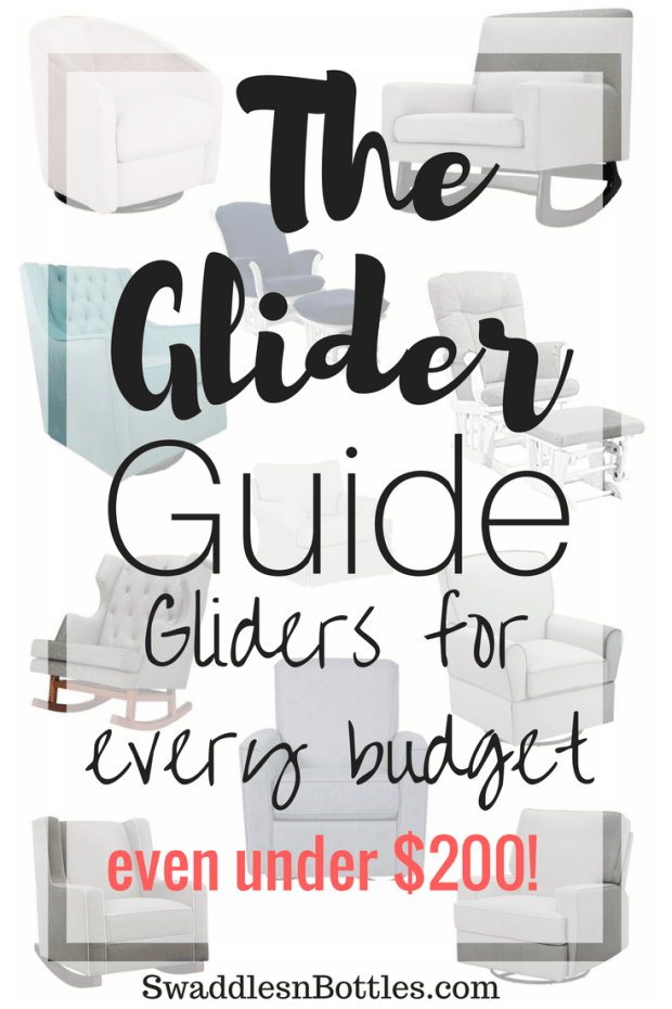 The Glider Guide From Swaddles n' Bottles