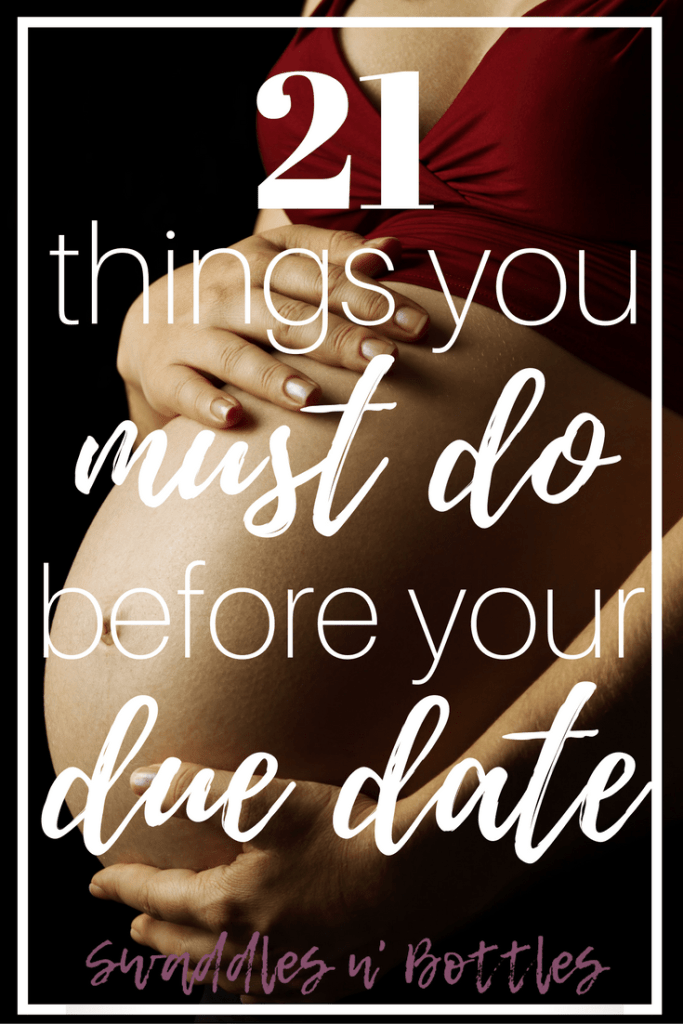 21 Things Every Expectant Mom Should Do To Prepare For Baby