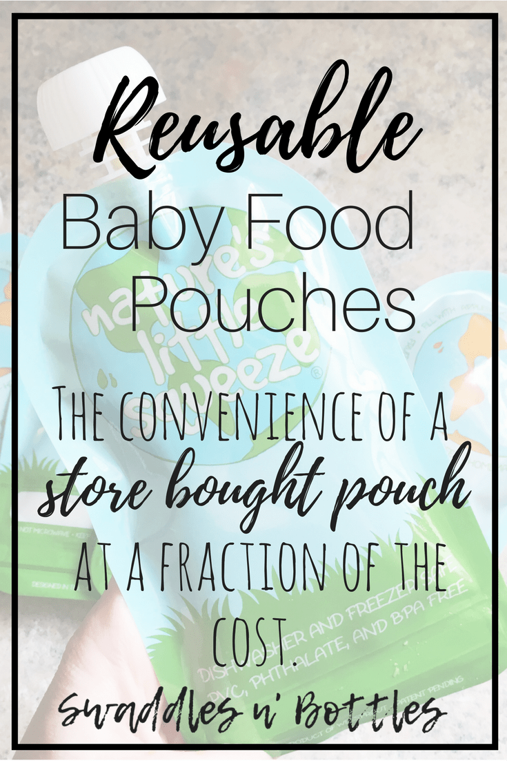 Reusable Baby Food Pouches- Do They Live Up To The Hype?