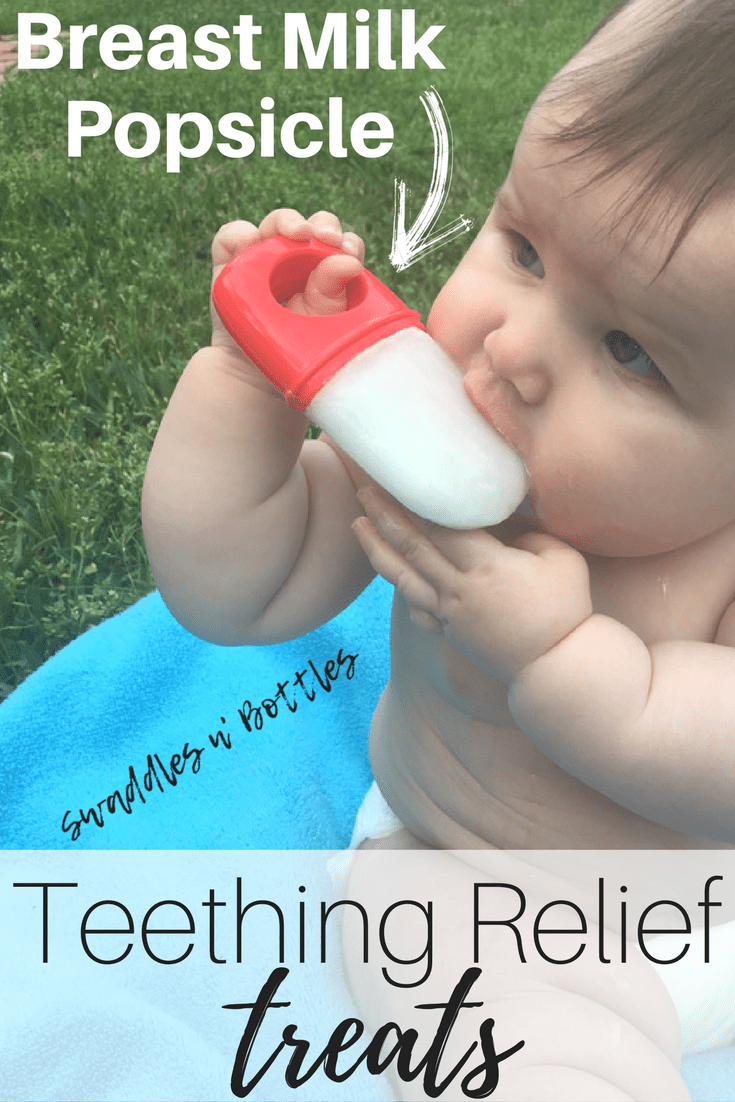 Teething Relief Treats for Baby