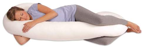 The Snoogle- Sleeping Support for the expectant mama